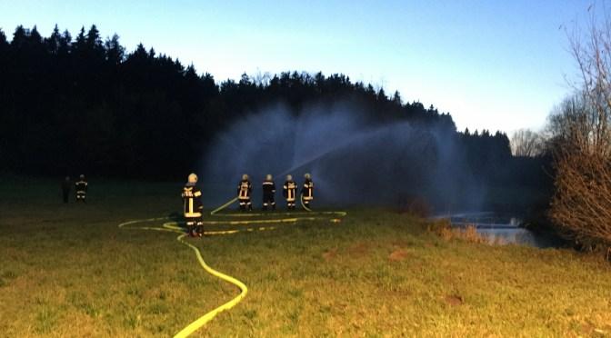 24.10.2015, Nachtübung in Dorf Rosenau
