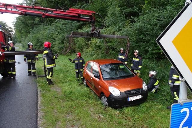Verkehrsunfall B27