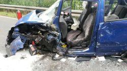 So sah das Auto aus, aus dem Christel Kujawa geschnitten wurde