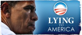 Obama Lying to America