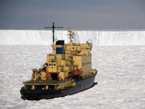 ice ship climate change global warming