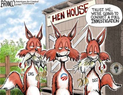 Hen House IRS DOJ Scandal Corruption