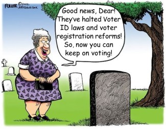 Voter Fraud Cartoon