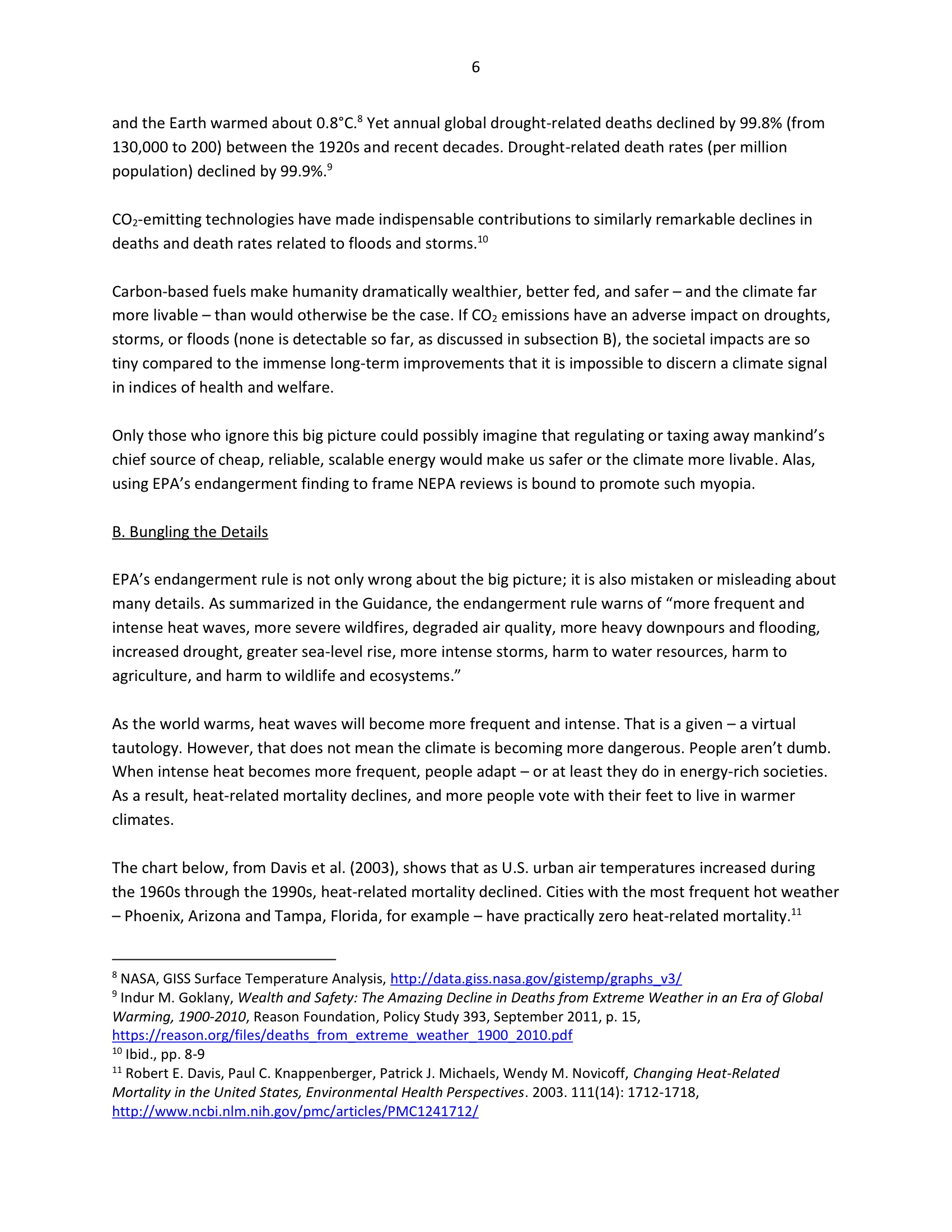 Marlo Lewis Competitive Enterprise Institute and Free Market Allies Comment Letter on NEPA GHG Guidance Document 78-6