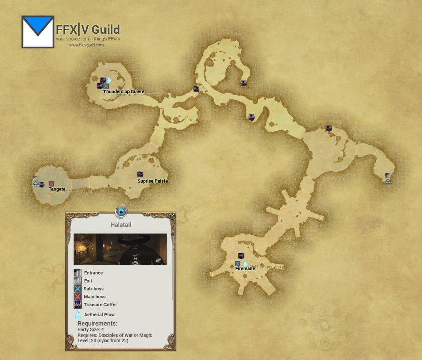 FFXIV-ARR-Halatali-Map