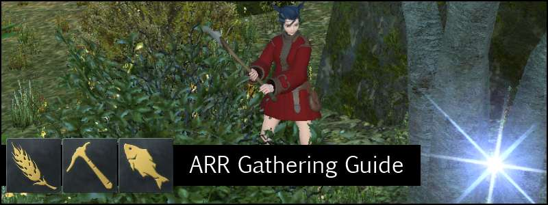 gathering guide banner ffxiv arr a realm reborn