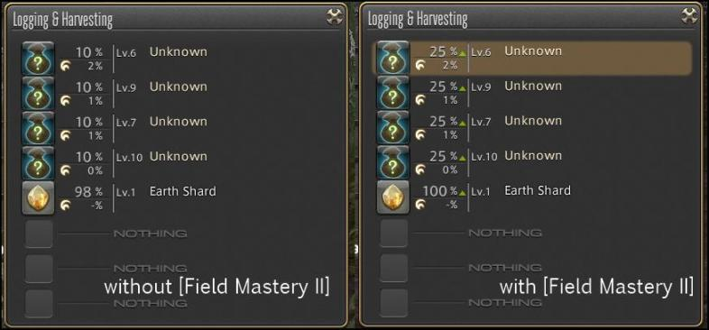 unknown material gathering guide ffxiv arr reborn