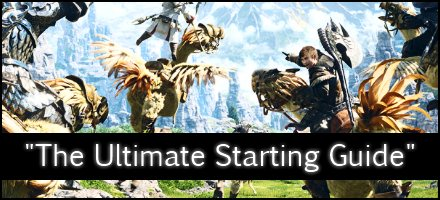ffxiv starters starting guide