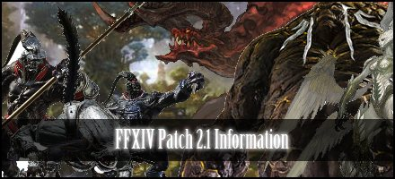 ffxiv patch 2.1 patch notes changelog information