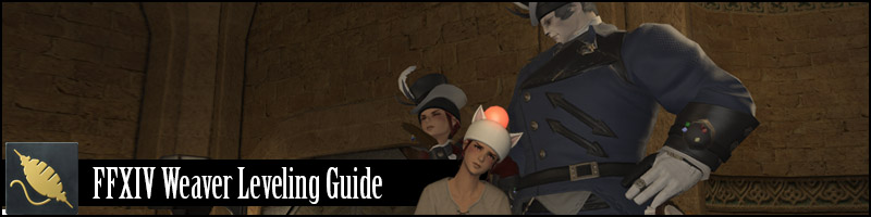 Ffxiv Weaver Leveling Guide 01 To 60