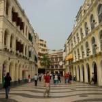 Les rues portuguaises de Macao