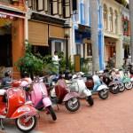 Ligne de scooters