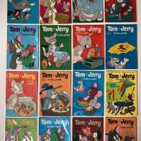 5° lote - Coleção Tom e Jerry – 2ª série (Ed. Ebal, formato americano)