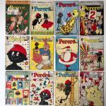 7° lote – Doze edições da revista Pererê (Ed. Cruzeiro, formato americamo)
