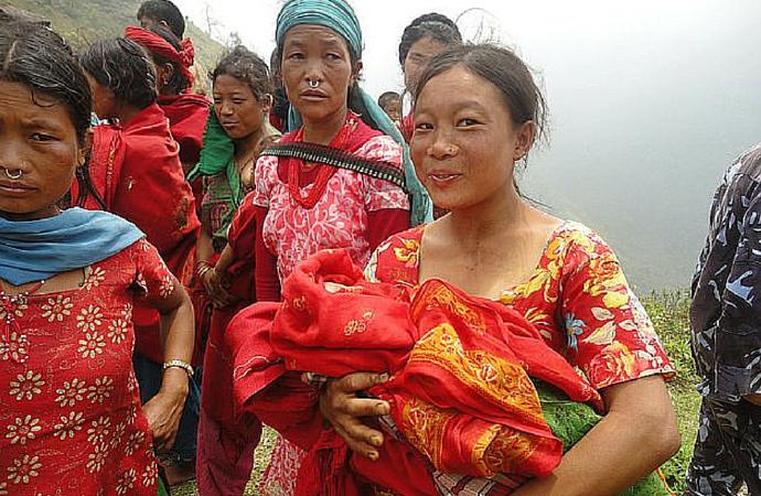 Fra ett av de jordskjelvrammede områdene i Nepal i 2015, 2015© FIAN International