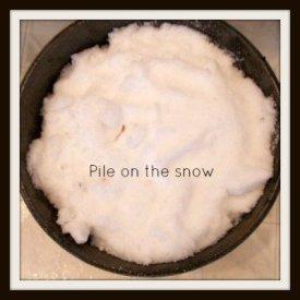 snow dye add snow-