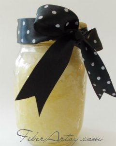 Make Your Own Lemon Sugar Hand Scrub