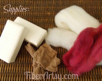 How to Hand Felt Soap, Fiberartsy.com
