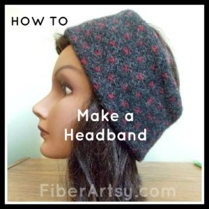 How to Make a Headband, Ear Warmer