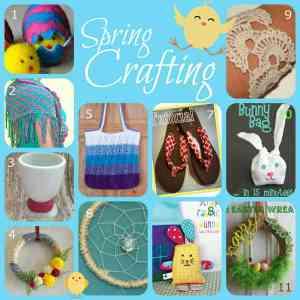 Fun Spring Fabric and Fiber Crafts