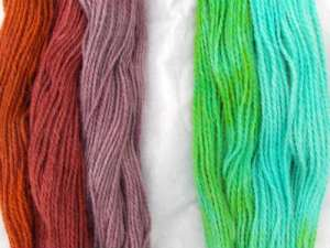 Over-Dyeing Yarn with Kool-Aid – Experiment