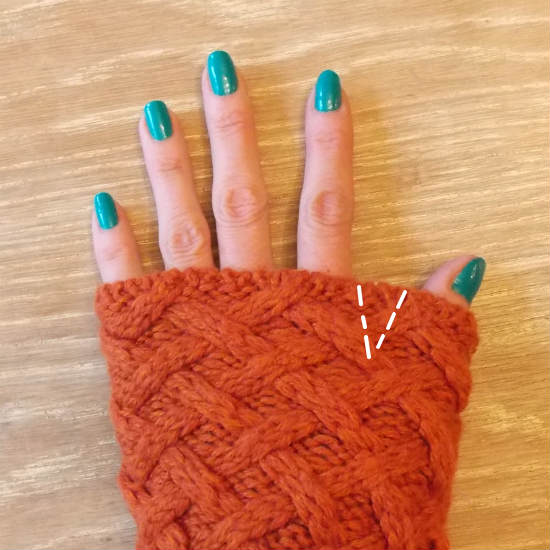 Fingerless Gloves from a Sweater, Fiberartsy.com