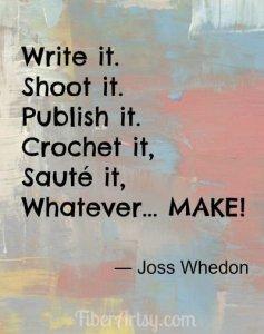 Inspiration … Just MAKE!