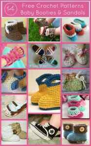 14 Free Baby Booty Crochet Patterns