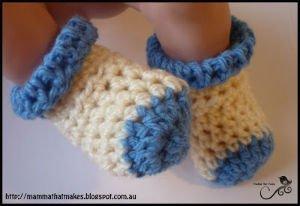 Crochet Sock Pattern for Preemie Baby