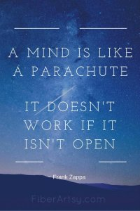 A Mind is like a Parachute …