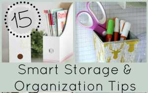 15 Smart Home Organization & Storage Ideas