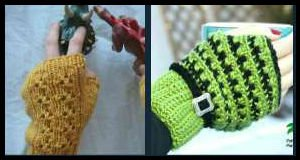 Free Fingerless Glove Patterns for Knit and Crochet, FiberArtsy.com
