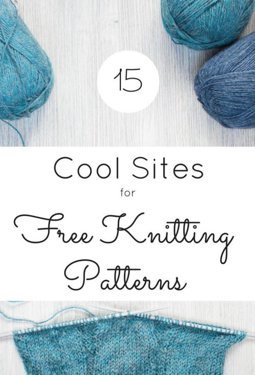 Sites for Free Knitting Patterns by FiberArtsy-final2