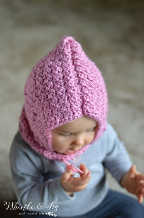 Free Crochet Pattern Toddler Hooded Cowl : Free Knit and Crochet Patterns for Baby - FiberArtsy.com