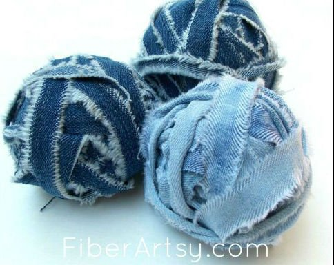 Recycled Denim Jean Projects, a FiberArtsy.com tutorial