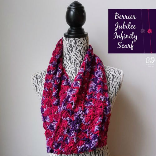 Free Infinity Scarf and Cowl Crochet Patterns FiberArtsy.com