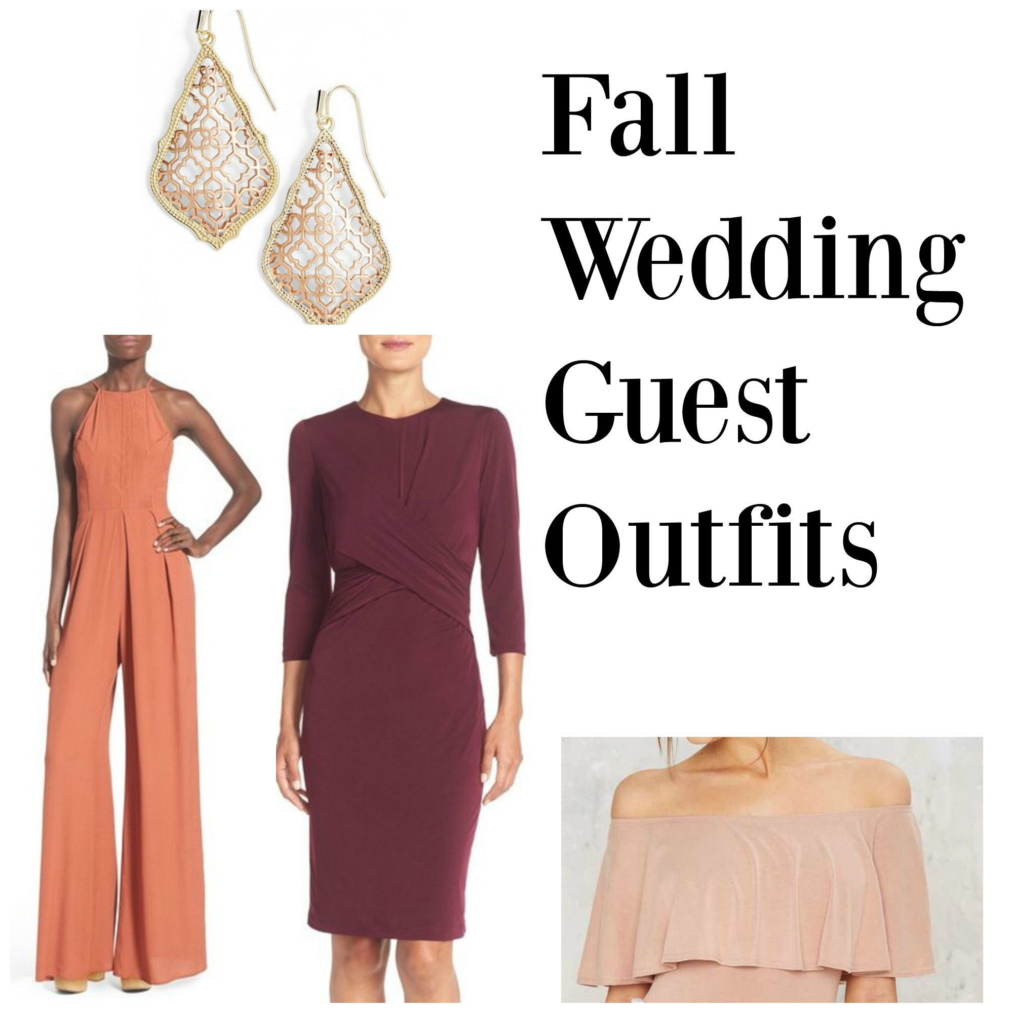 fall wedding guest outfits fall wedding guest dresses