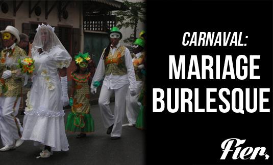 Mariage Burlesque en Guyane