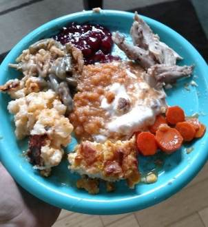 Thanksgiving meal #2