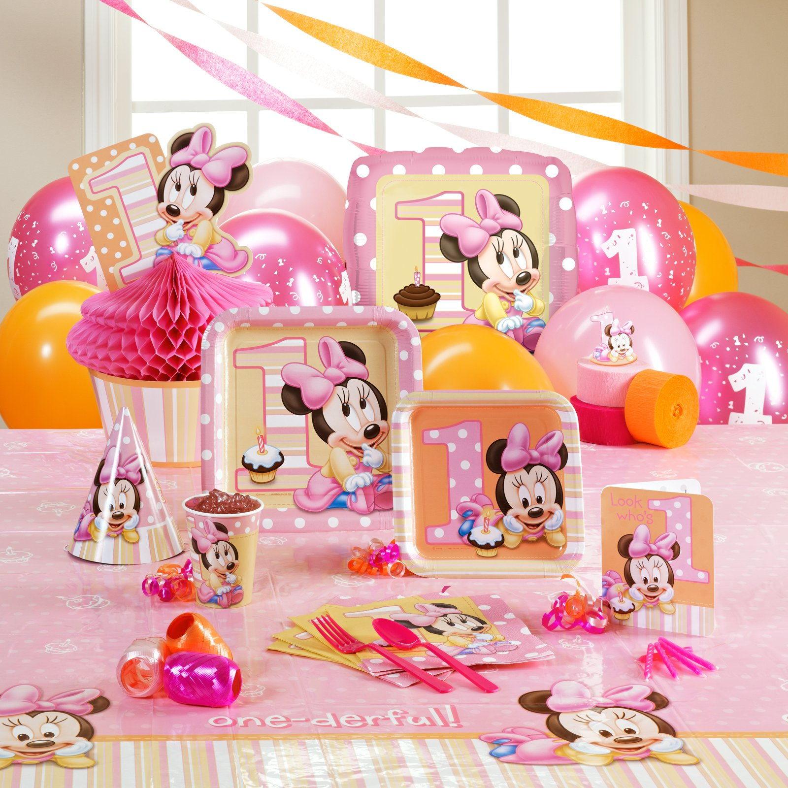 Cumpleaños Baby Minnie Mouse Disney
