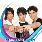 invitaciones Jonas Brothers