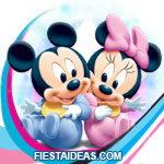 invitaciones Baby Disney