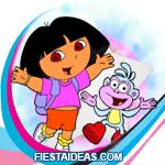 invitacion Dora la Exploradora