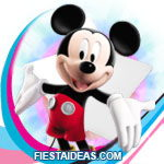 invitaciones Mickey Mouse