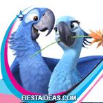 invitaciones Rio 2 Blu y Perla