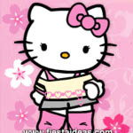 Invitaciones Hello Kitty