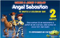 Invitaciones Toy Story de Jessie y woodie listas para imprimir