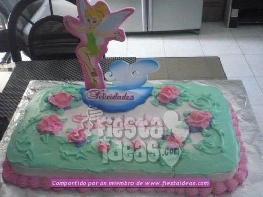 20 ideas para decoracion de tortas de Campanita - tinkerbell-015_min