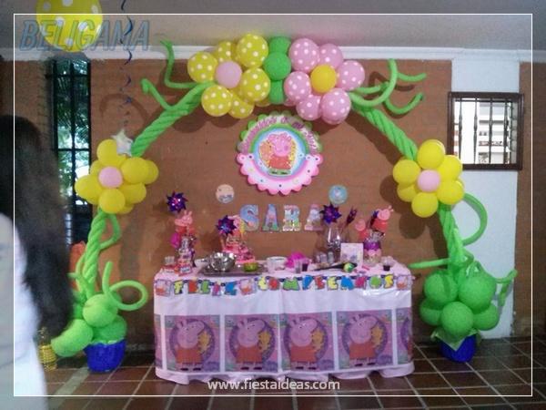 Decoracion Cumplea?os Peppa Pig ~ Peppa Pig Original fiesta de cumplea?os infantil para compartir