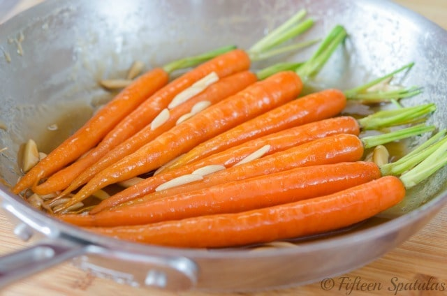 Maple Brown Butter Glazed Carrots